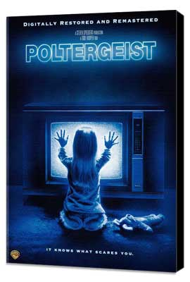 Poltergeist - 11 x 17 Movie Poster - Style E - Museum Wrapped Canvas