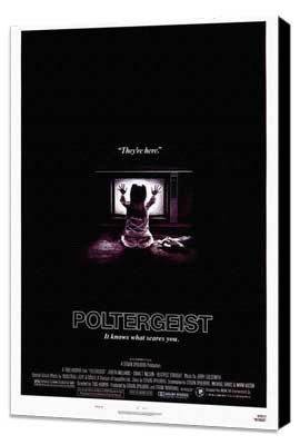 Poltergeist - 27 x 40 Movie Poster - Style A - Museum Wrapped Canvas