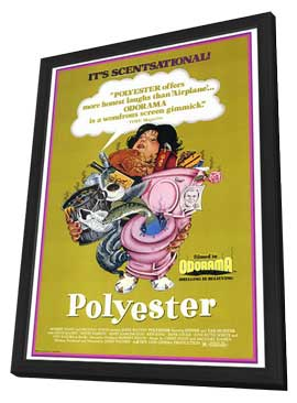 Polyester - 27 x 40 Movie Poster - Style A - in Deluxe Wood Frame