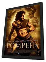 Pompeii - 11 x 17 Movie Poster - German Style A - in Deluxe Wood Frame
