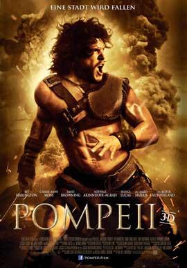 Pompeii - 11 x 17 Movie Poster - German Style A