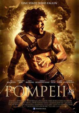 Pompeii - 27 x 40 Movie Poster - German Style A
