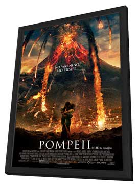 Pompeii - 11 x 17 Movie Poster - Style A - in Deluxe Wood Frame