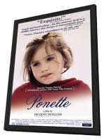 Ponette - 27 x 40 Movie Poster - Style A - in Deluxe Wood Frame
