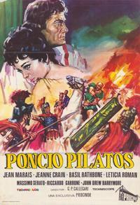 Pontius Pilate - 27 x 40 Movie Poster - Spanish Style A