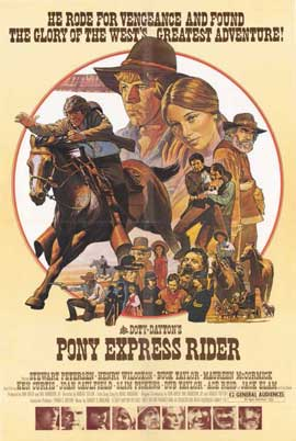 Pony Express Rider - 11 x 17 Movie Poster - Style A