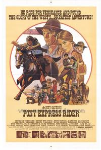 Pony Express Rider - 27 x 40 Movie Poster - Style A