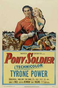 Pony Soldier - 43 x 62 Movie Poster - Bus Shelter Style A