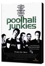 Poolhall Junkies - 27 x 40 Movie Poster - Style A - Museum Wrapped Canvas