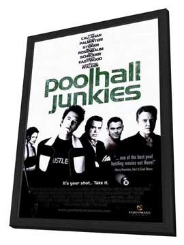 Poolhall Junkies - 11 x 17 Movie Poster - Style A - in Deluxe Wood Frame