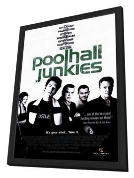 Poolhall Junkies - 27 x 40 Movie Poster - Style A - in Deluxe Wood Frame