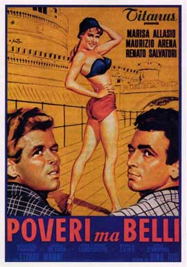 Poor But Beautiful - 27 x 40 Movie Poster - Italian Style A