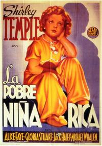Poor Little Rich Girl - 11 x 17 Movie Poster - Spanish Style A