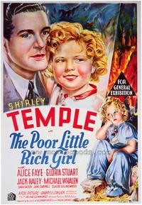Poor Little Rich Girl - 43 x 62 Movie Poster - Bus Shelter Style A