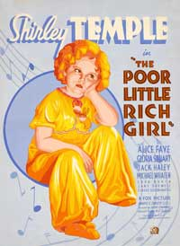 Poor Little Rich Girl - 11 x 17 Movie Poster - Style B