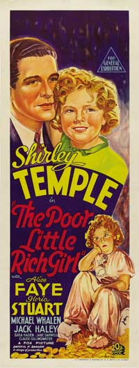 Poor Little Rich Girl - 14 x 36 Movie Poster - Insert Style A