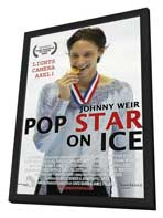Pop Star on Ice - 11 x 17 Movie Poster - Style A - in Deluxe Wood Frame