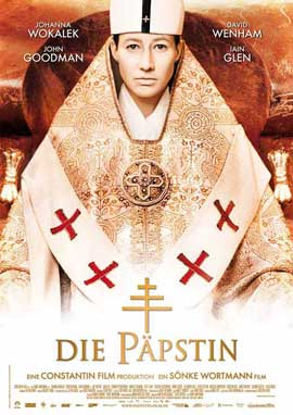 Pope Joan - 11 x 17 Movie Poster - German Style B
