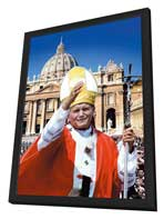 Pope John Paul II: Builder of Bridges - 11 x 17 Movie Poster - Style A - in Deluxe Wood Frame