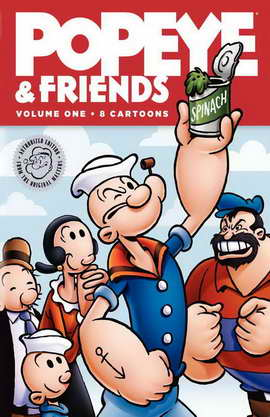 Popeye and Friends - 11 x 17 Movie Poster - Style A