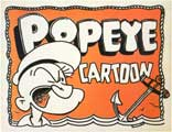 Popeye Cartoon - 11 x 14 Movie Poster - Style A