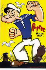 Popeye - 11 x 17 Movie Poster - Style A