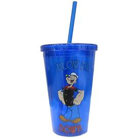 Popeye - Blow Me Down Plastic Travel Mug