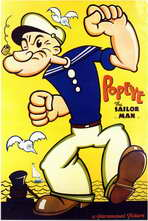 Popeye the Sailor Man - 11 x 17 Movie Poster - Style A