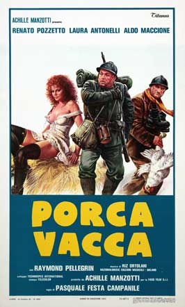 Porca vacca - 27 x 40 Movie Poster - Italian Style A