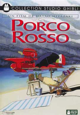 Porco Rosso - 11 x 17 Movie Poster - French Style A