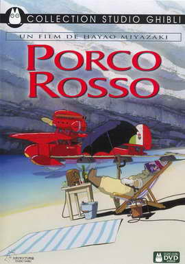 Porco Rosso - 27 x 40 Movie Poster - French Style A