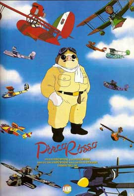 Porco Rosso - 11 x 17 Movie Poster - Spanish Style A