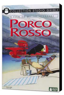 Porco Rosso - 27 x 40 Movie Poster - French Style A - Museum Wrapped Canvas