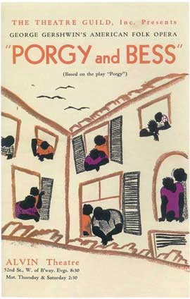 Porgy And Bess (Broadway) - 14 x 22 Poster - Style A