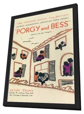 Porgy And Bess (Broadway) - 11 x 17 Poster - Style A - in Deluxe Wood Frame