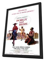 Porgy & Bess - 11 x 17 Movie Poster - Style A - in Deluxe Wood Frame