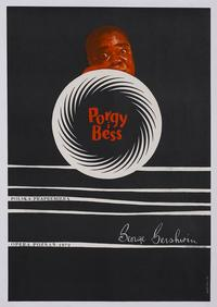 Porgy & Bess - 11 x 17 Movie Poster - Polish Style A