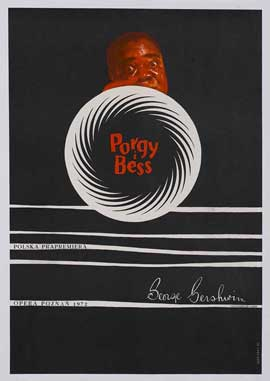 Porgy & Bess - 27 x 40 Movie Poster - Polish Style A