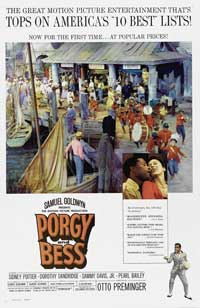 Porgy & Bess - 43 x 62 Movie Poster - Bus Shelter Style B