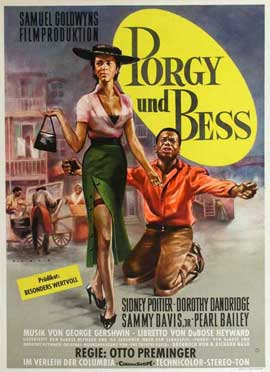 Porgy & Bess - 11 x 17 Movie Poster - German Style A