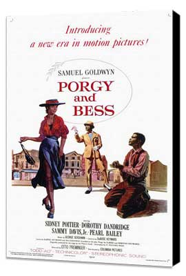 Porgy & Bess - 11 x 17 Movie Poster - Style A - Museum Wrapped Canvas