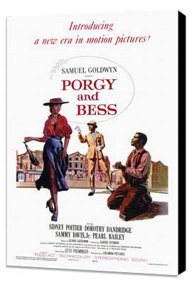 Porgy & Bess - 27 x 40 Movie Poster - Style A - Museum Wrapped Canvas