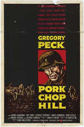 Pork Chop Hill - 11 x 17 Movie Poster - Style A