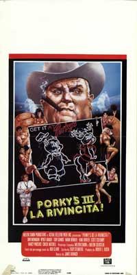 Porky's Revenge - 13 x 28 Movie Poster - Italian Style A