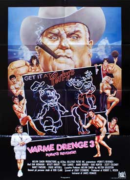 Porky's Revenge - 27 x 40 Movie Poster - Danish Style A