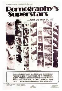 Pornography's Superstars - 27 x 40 Movie Poster - Style A