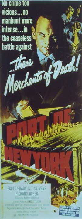 Port of New York - 11 x 17 Movie Poster - Style B