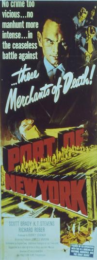Port of New York - 27 x 40 Movie Poster - Style B