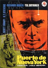 Port of New York - 11 x 17 Movie Poster - Spanish Style A