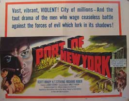 Port of New York - 22 x 28 Movie Poster - Half Sheet Style A